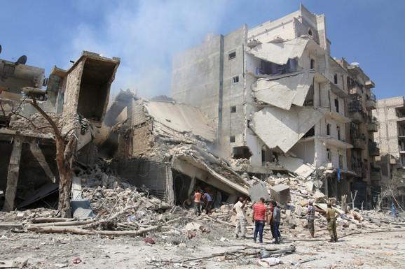 Razrušen Alep