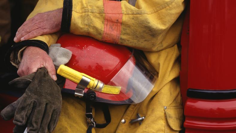 Akcja gaśnicza strażaków trwała około godziny