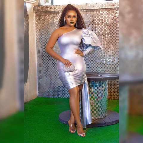 One of the most talked about housemate of season 3, CeeC was also at the premiere and everyone wanted to catch a glimpse of the beautiful but controversial reality tv star