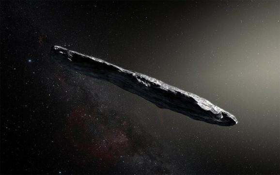 Da li je neobično duguljast objekat vanzemaljska letelica?