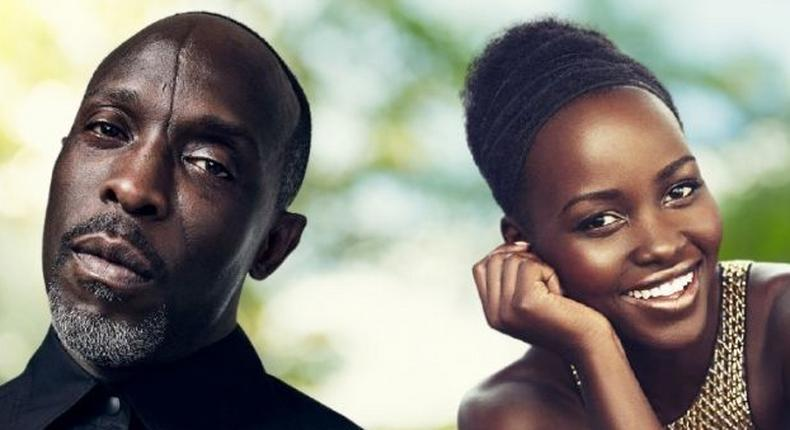 Michael K Williams and Lupita Nyong'o
