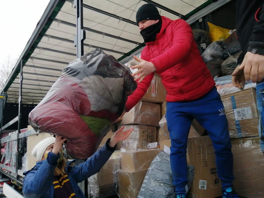 Piotrkowianie pomagają mieszkańcom poszkodowanej w trzęsieniu ziemi chorwackiej Petrinji