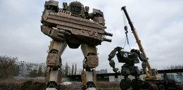 Wykonali kilkutonowe rzeźby transformersów. Takie mają plany