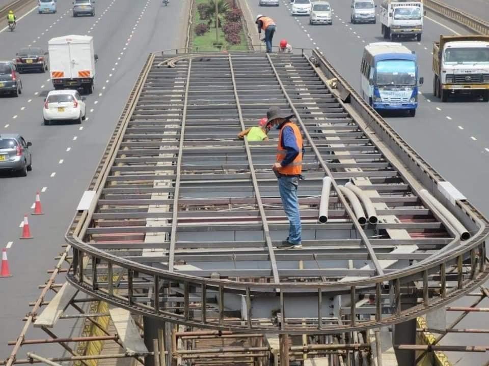 BRT System takes shape along Thika Superhighway