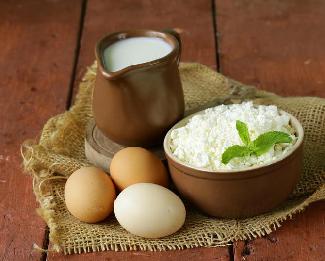 Mleka je bilo u izobilju, a od njega su pravili kiselo mleko i sir