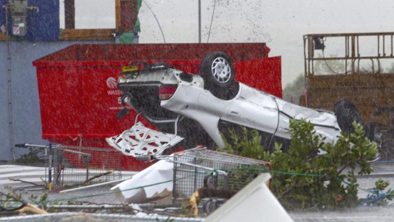 Tornado uderzyło w Auckland