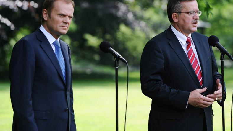 Tusk i Komorowski nie zostaną przesłuchani
