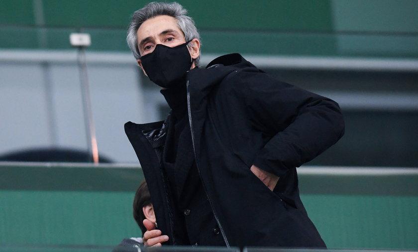 Paulo Sousa na polskich stadionach to zbyt rzadki obrazek