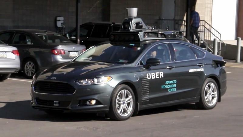 Autonomiczne taksówki Ubera w Arizonie