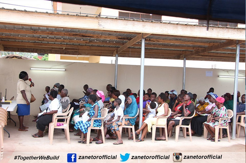Zanetor Rawlings organizes free-health screening for constituents