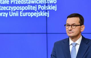 Morawiecki: Rozmowy na szczycie unijnym o relacjach transatlantyckich UE - USA były bardzo budujące