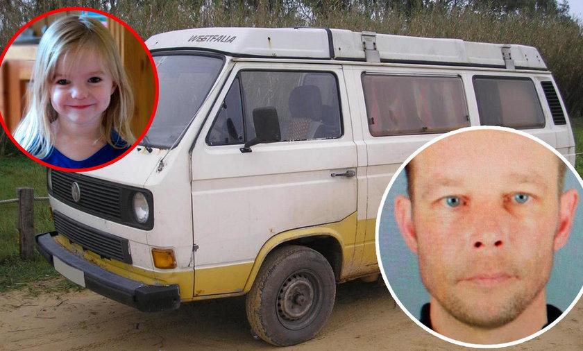 """Znaleźli furgonetkę Niemca podejrzanego o zabicie Maddie. Czy to """"brakujący element układanki""""?Znaleźli furgonetkę Niemca podejrzanego o zabicie Maddie. Czy to """"brakujący element układanki""""?"""