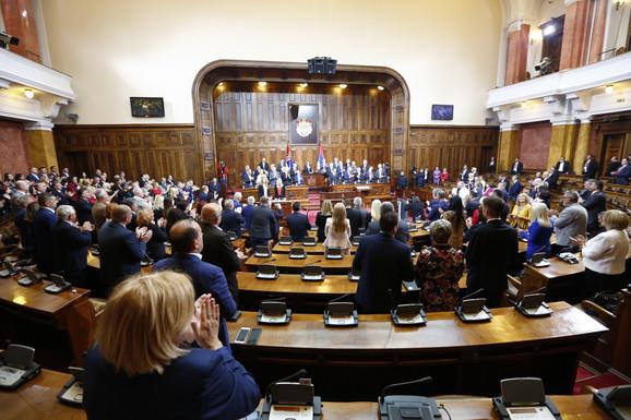 Medvedev poseta Dom Narodne skupštine Srbije