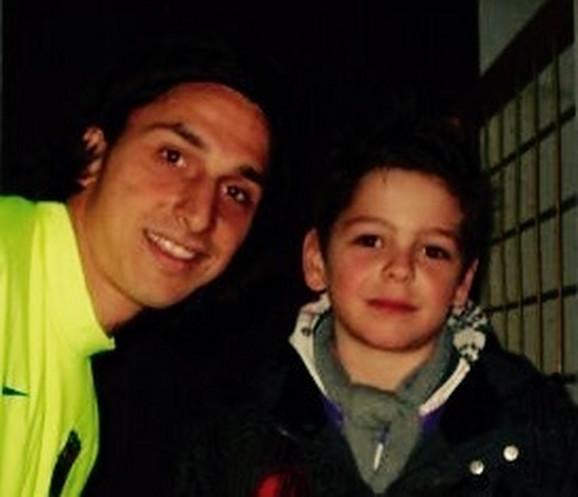 Zlatan Ibrahimović i Aleksandar Isailović