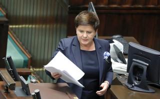 Sejm odrzucił wniosek o wotum nieufności wobec wicepremier Beaty Szydło oraz minister Elżbiety Rafalskiej