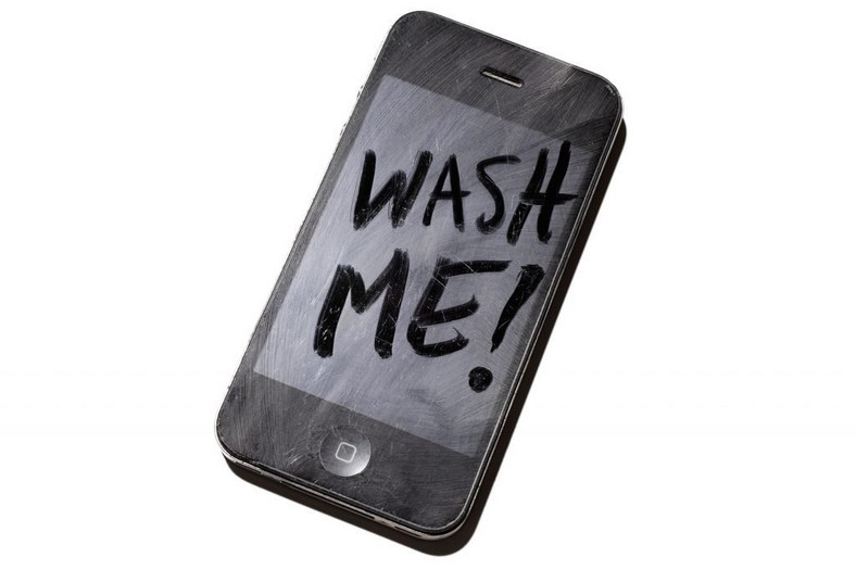 Dirty phone screen(How to lose weight as fast roads)