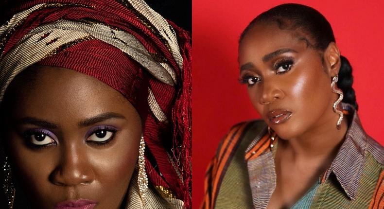 Toni Tones as the young Eniola Salami in 'KOB' [Instagram/iamtonitones]