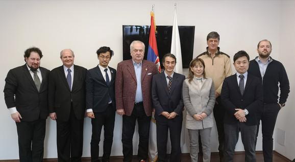 Čelnici OKS sa gostima iz Japana