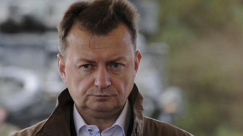 Szef MON Mateusz Błaszczak