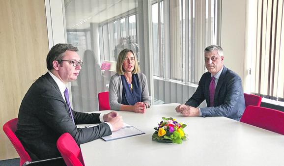 Briselski dijalog na čekanju do ukidanja takse
