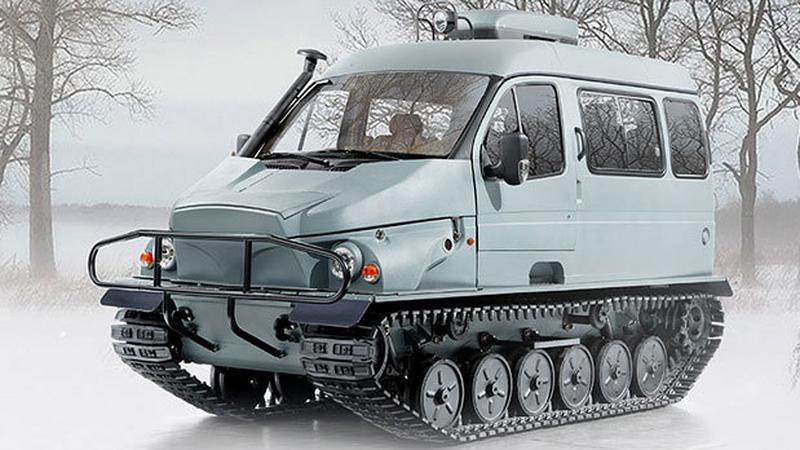 GAZ 3409 Bobr