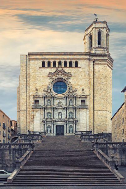 Katedra w Gironie, Katalonia, Hiszpania