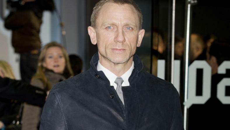"""Daniel Craig na premierze """"Dziewczyny z tatuażem"""""""