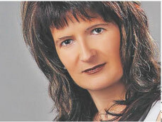 Teresa Piechowicz, z Urzędu Kontroli Skarbowej w Rzeszowie Fot. Archiwum