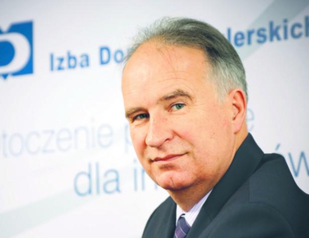 Janusz Czarzasty, prezes Izby Domów Maklerskich. Fot. Materiały prasowe