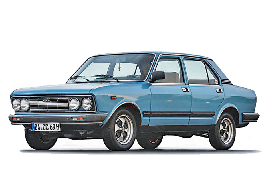 Fiat 132 2000 Injection, 1979–81