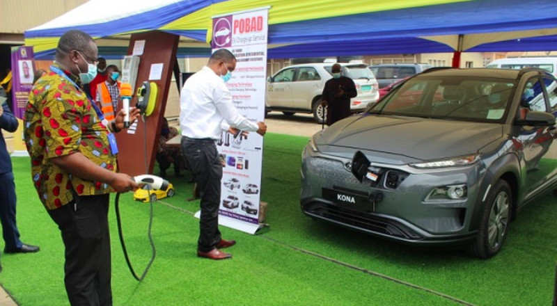 ECG installs electric vehicle charging systems in Accra