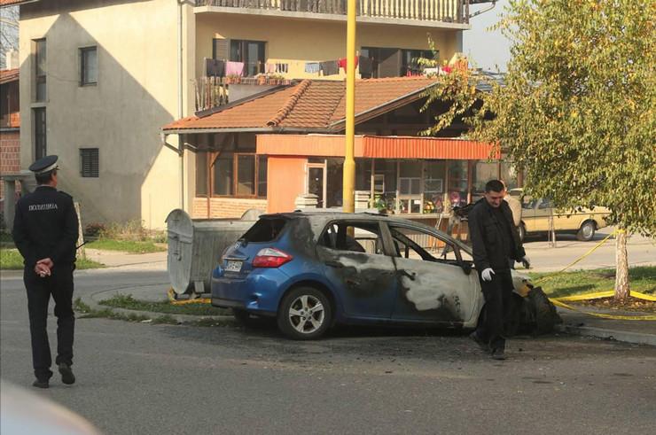 autmobil izgorio Banjaluka