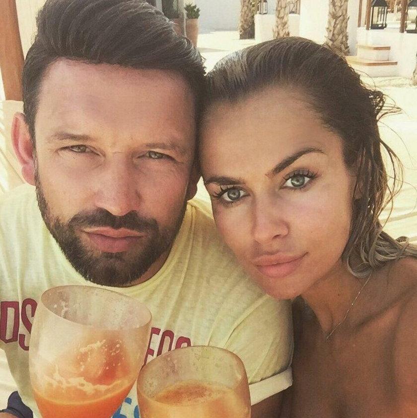Natalia Siwiec z mężem Mariuszem