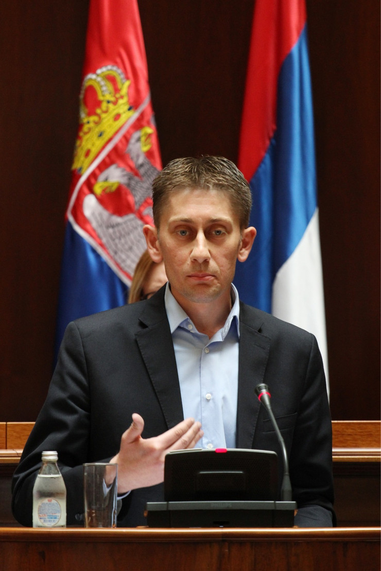 aleksandar martinović, sns