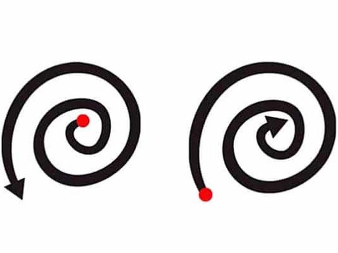 Spolja ka iznutra ili iznutra ka spolja? Način na koji crtate spiralu otkriva BITNU STVAR o vama
