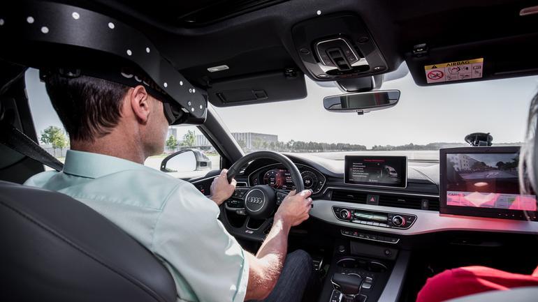Audi testuje system wykrywania zagrożeń w trakcie jazdy