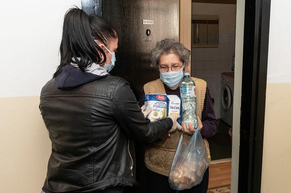 Pomoć penzionerima u Zrenjaninu