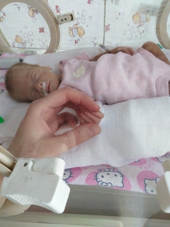 Helena posle rođenja