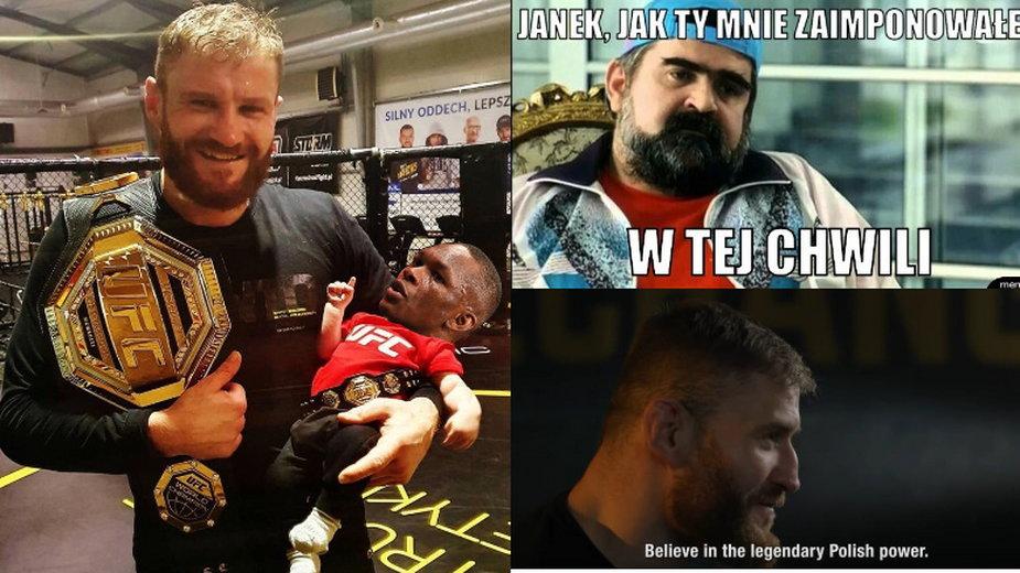 Jan Błachowicz obronił pas UFC!