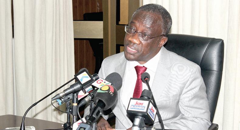 Commissioner-General of GRA, Emmanuel Kofi Nti