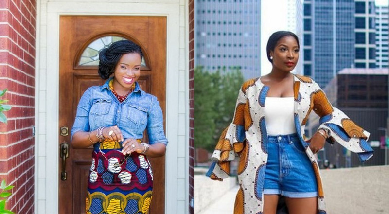 Ankara and denim styles to try for your next casual look (Photos)