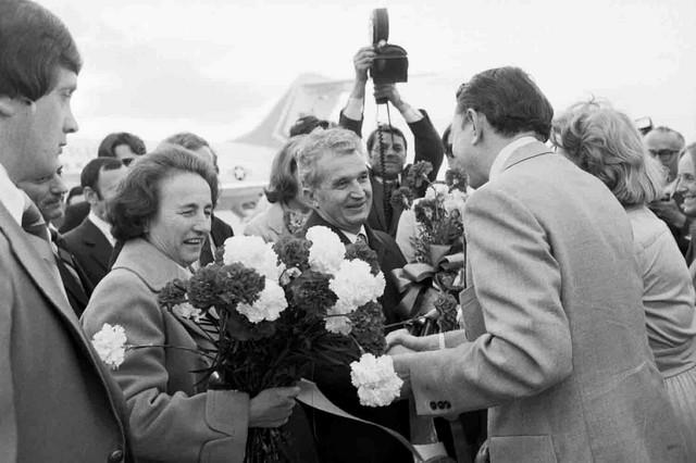 Nikolaj Čaušesku i njegova žena