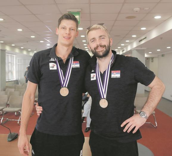 Srećko Lisinac i Uroš Kovačević sa velikim uspehom igraju za Trentino