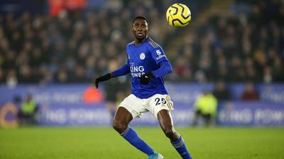 Nigerian midfielder Wilfred Ndidi says he is happy at Leicester City and has no intention of leaving