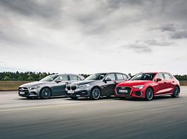 Czy nowe Audi A3 zawstydzi BMW serii 1 i Mercedesa klasy A?