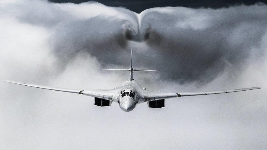 Bombowiec strategiczny Tupolew Tu-160