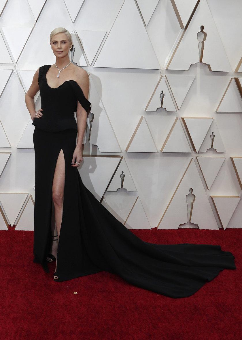 Charlize Theron na 92. gali rozdania Oscarów