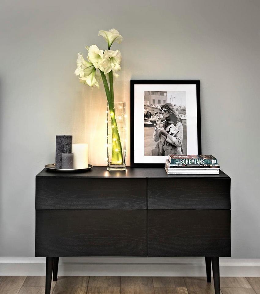 3. Lampki choinkowe są wspaniałym źródłem delikatnego światła, które nadaje każdemu przedmiotowi niezwykłą oprawę.