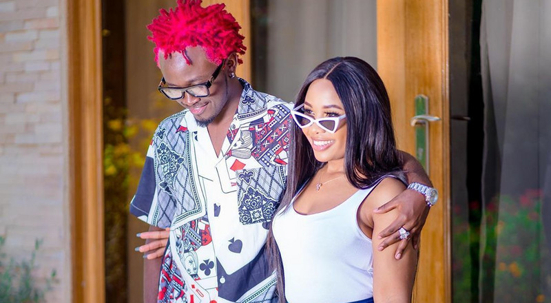 Bahati explains why he used his wife's best friend as a video vixen in new song
