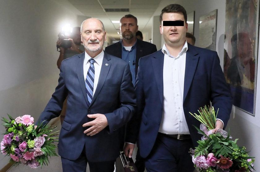 Bartłomiej M., były rzecznik MON zatrzymany przez CBA
